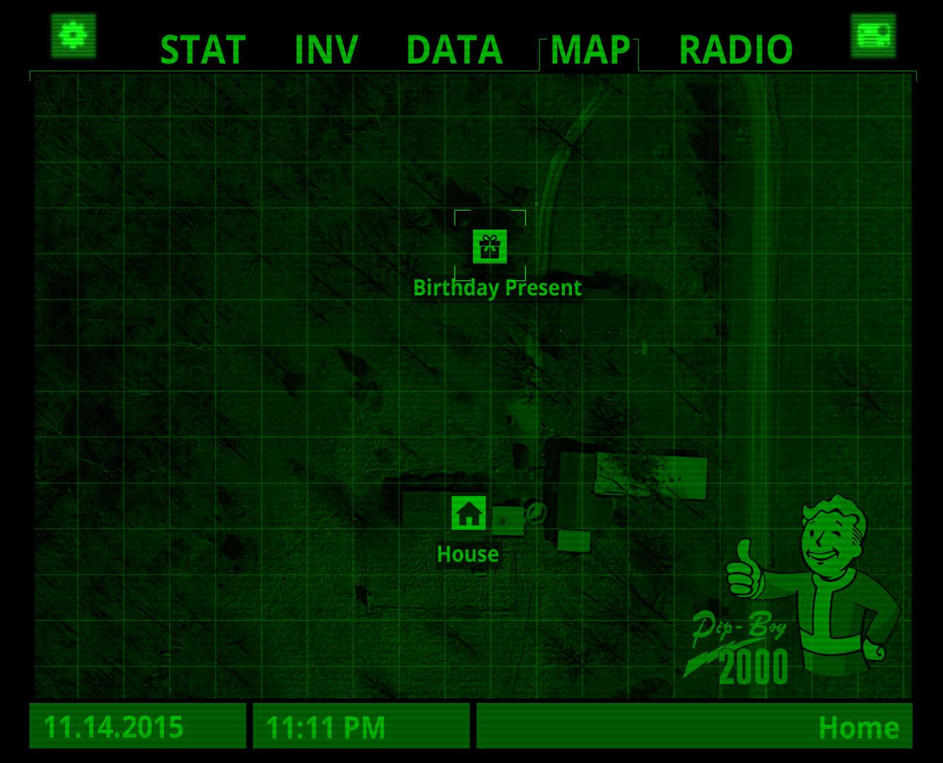 Fallout 4 Birthday Map || Smokie Lee - Web Design, Web
